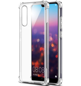 Atouchbo Huawei P30 hoes - Anti-Shock TPU Back Cover - Transparant