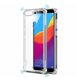 Atouchbo Huawei Y9 2019 hoes - Anti-Shock TPU Back Cover - Transparant