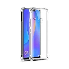 Huawei P Smart Plus 2019 hoes - Anti-Shock TPU Back Cover - Transparant