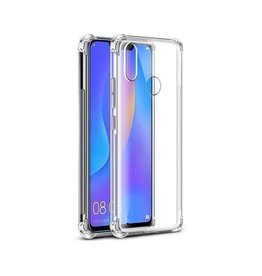 Atouchbo Huawei P Smart Plus 2019 hoes - Anti-Shock TPU Back Cover - Transparant