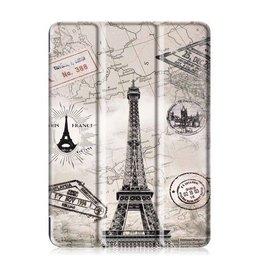 Serise iPad 9.7 - Tri-Fold Book Case - Eiffeltoren