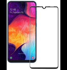 Case2go Samsung Galaxy A20e - Full Cover Screenprotector - Zwart