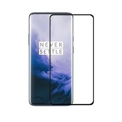 OnePlus 7 Pro - Full Cover Screenprotector Folie -Zwart