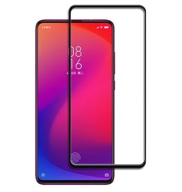 Case2go Xiaomi Redmi K20 Pro - Full Cover Screenprotector - Zwart
