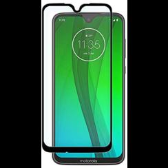 Motorola Moto G7/G7 Plus - Full Cover Screenprotector - Zwart