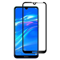 Huawei P Smart Z - Full Cover Screenprotector - Zwart