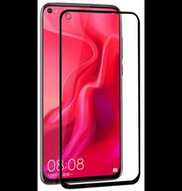 Case2go Huawei P20 Lite (2019) - Full Cover Screenprotector - Zwart