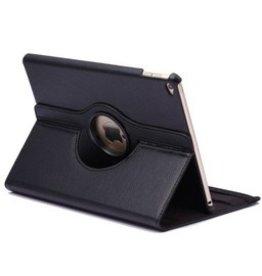 Huismerk iPad 9.7 - 360 graden draaibare hoes - Black