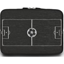 Macbook en Laptop sleeve - 13.3 inch - Voetbalveld
