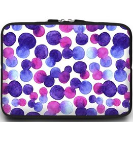 Cover2day Macbook en Laptop sleeve - 13.3 inch - Colorfull Dots