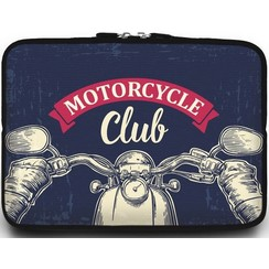 Universele Laptop Sleeve - 15.6 inch - Motorcycle Club