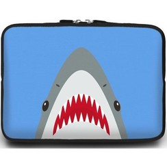 Universele Laptop Sleeve - 15.6 inch - Shark
