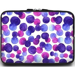 Universele Laptop Sleeve - 15.6 inch - Colorfull Dots