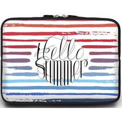 Universele Laptop Sleeve - 10.2 inch - Hello Summer