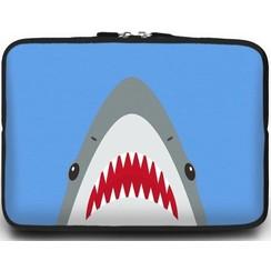 Universele Laptop Sleeve - 10.2 inch - Shark