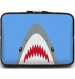 Case2go Universele Laptop Sleeve - 10.2 inch - Shark