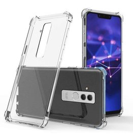 Atouchbo Huawei Mate 20 Lite hoes - Anti-Shock TPU Back Cover - Transparant