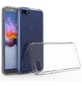 Atouchbo Huawei Y5 (2019) hoes - Anti-Shock TPU Back Cover - Transparant
