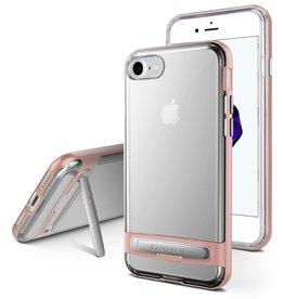 Goospery iPhone Xs Max bumper - Goospery Dream Stand Bumper Case - Rosé Goud