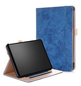 Serise iPad Pro 11 hoes - Wallet Book Case - Blauw