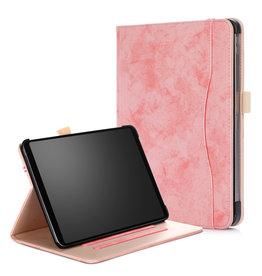 Serise iPad Pro 11 hoes - Wallet Book Case - Roze