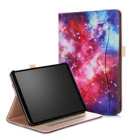 Case2go iPad Pro 11 hoes - Wallet Book Case - Galaxy