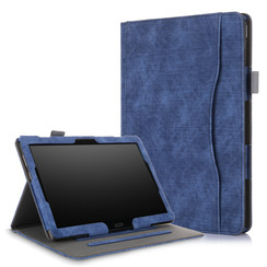 Lenovo Tab P10 / M10  hoes - Wallet Book Case - Blauw