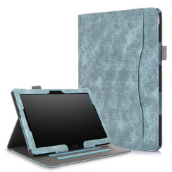 Lenovo Tab P10 / M10 hoes - Wallet Book Case - Turquoise