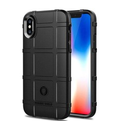 iPhone XR - Heavy Armor TPU Bumper - Zwart