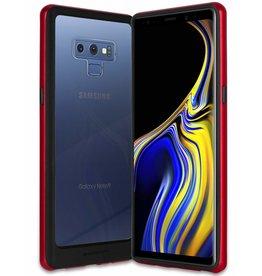Goospery Samsung Galaxy A8 (2018) bumper - Goospery Hybrid TPU Cover - Rood