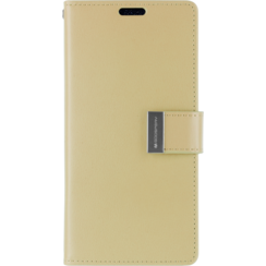 iPhone XR Wallet Case - Goospery Rich Diary - Goud