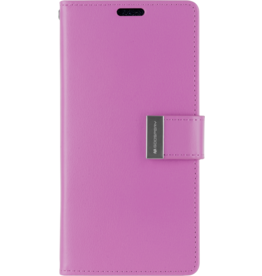 Mercury Goospery Samsung Galaxy S10e Wallet Case - Goospery Rich Diary - Paars
