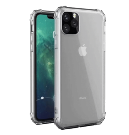 Atouchbo iPhone 11 Pro Max hoes - Anti-Shock TPU Back Cover - Transparant