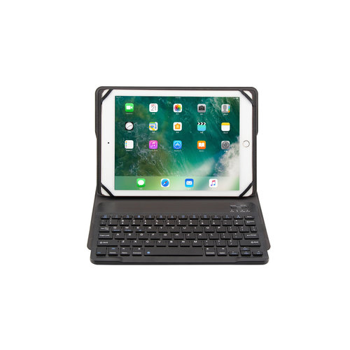 Cover2day Bluetooth Toetsenbord hoes - Universeel 9 / 10 inch - Zwart