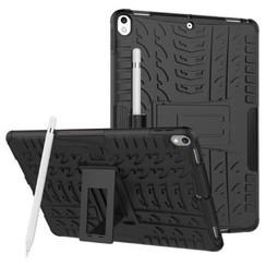 iPad Air 10.5 hoes (2019) - Schokbestendige Back Cover - Zwart
