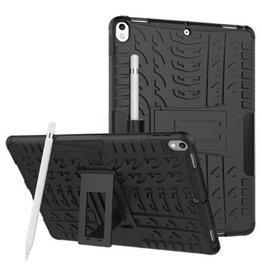 Serise iPad Air 10.5 hoes (2019) - Schokbestendige Back Cover - Zwart