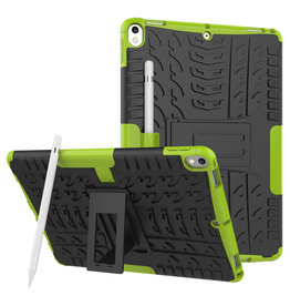 Case2go iPad Air 10.5 hoes (2019) - Schokbestendige Back Cover - Groen