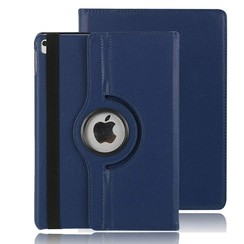 iPad Air 10.5 (2019) hoes - Draaibare Book Case - Donker Blauw