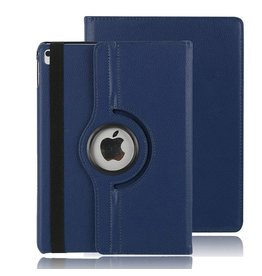Serise iPad Air 10.5 (2019) hoes - Draaibare Book Case - Donker Blauw