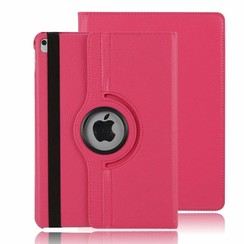 iPad Air 10.5 (2019) hoes - Draaibare Book Case - Magenta
