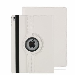 iPad Air 10.5 (2019) hoes - Draaibare Book Case - Wit