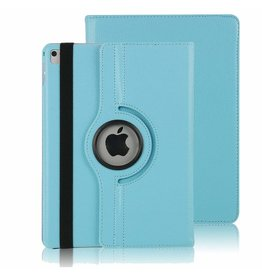 Case2go iPad Air 10.5 (2019) hoes - Draaibare Book Case - Licht Blauw