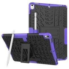 iPad Air 10.5 (2019) Hoes - Schokbestendige Back Cover - Paars