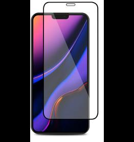 Case2go iPhone 11 - Full Cover Screenprotector - Zwart