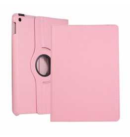 Serise iPad 10.2 (2019) Hoes - Draaibare Book Case Cover - Roze