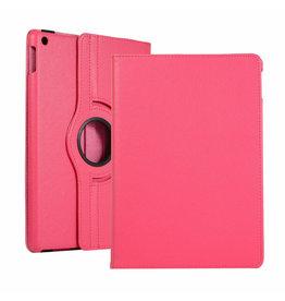 Serise iPad 10.2 (2019) Hoes - Draaibare Book Case Cover - Magenta