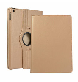 Serise iPad 10.2 (2019) Hoes - Draaibare Book Case Cover - Goud