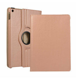 Serise iPad 10.2 (2019) Hoes - Draaibare Book Case Cover - Rosé-Goud