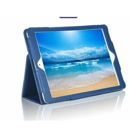 Serise iPad 10.2 inch (2019) hoes - Flip Cover Book Case - Donker Blauw