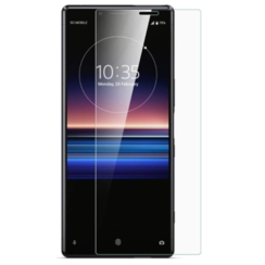 Sony Xperia 1 - Tempered Glass Screenprotector - Case-Friendly